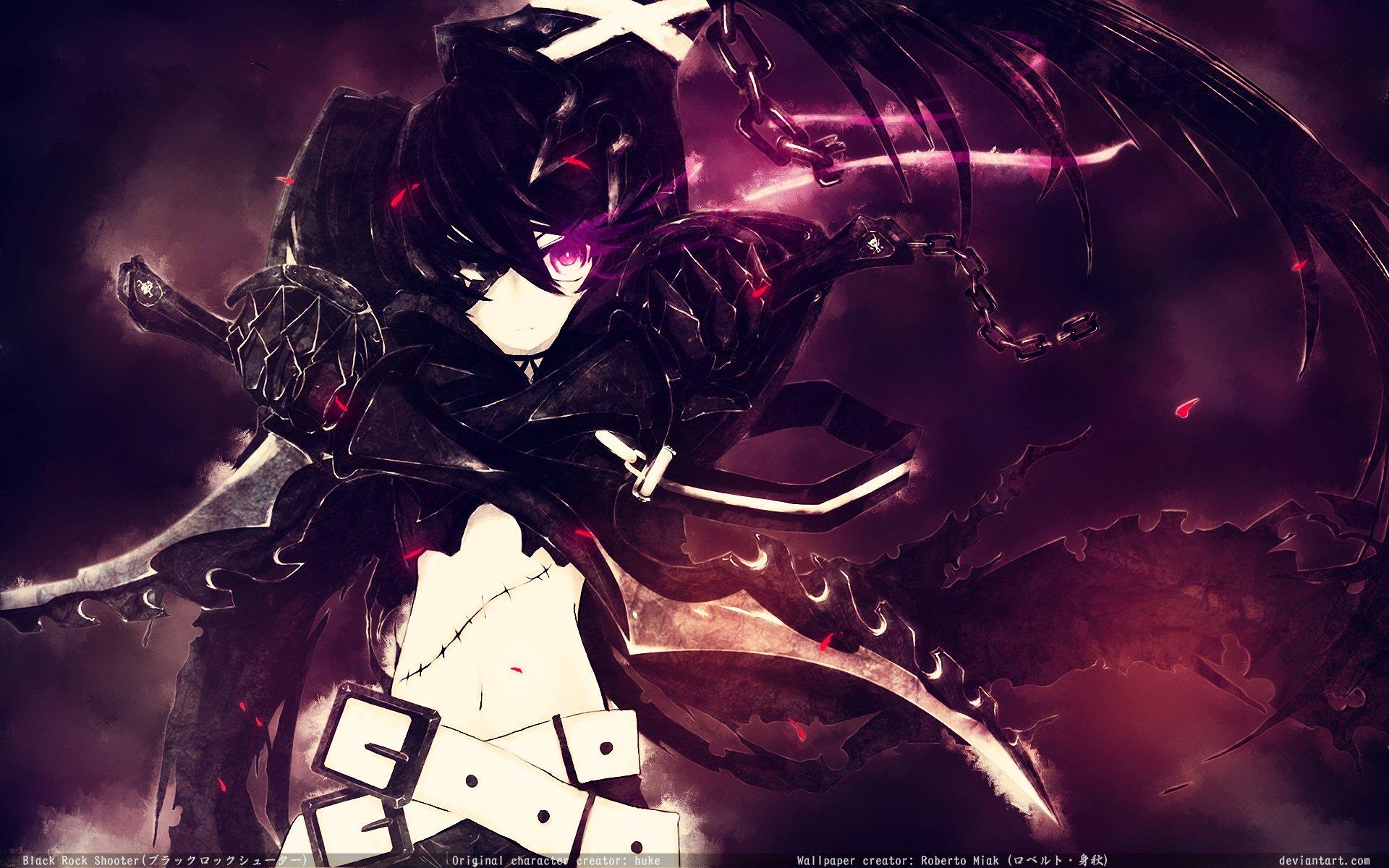 Anime - Black Rock Shooter  Insane Black Rock Shooter Wallpaper