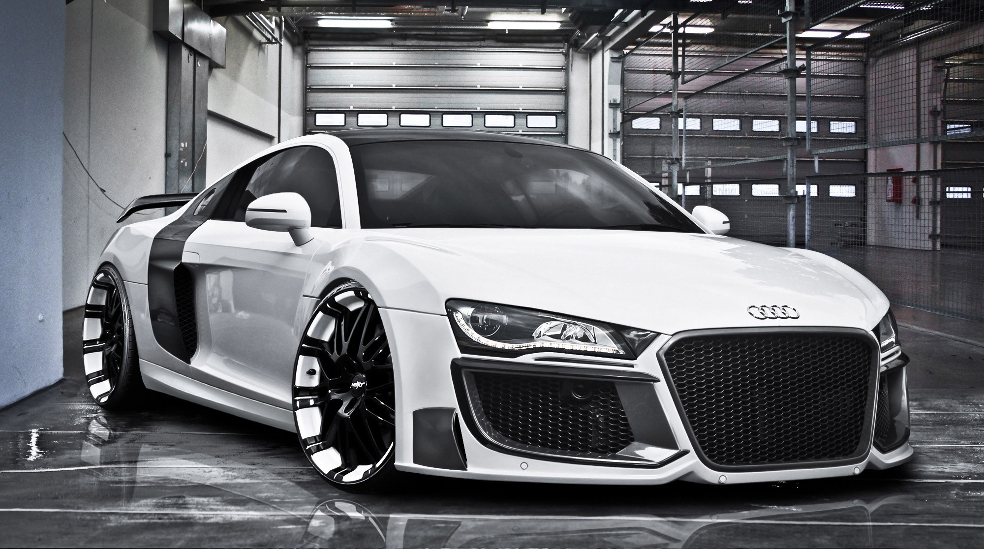 Audi R8 Full Hd Fond D 233 Cran And Arri 232 Re Plan 2000x1116