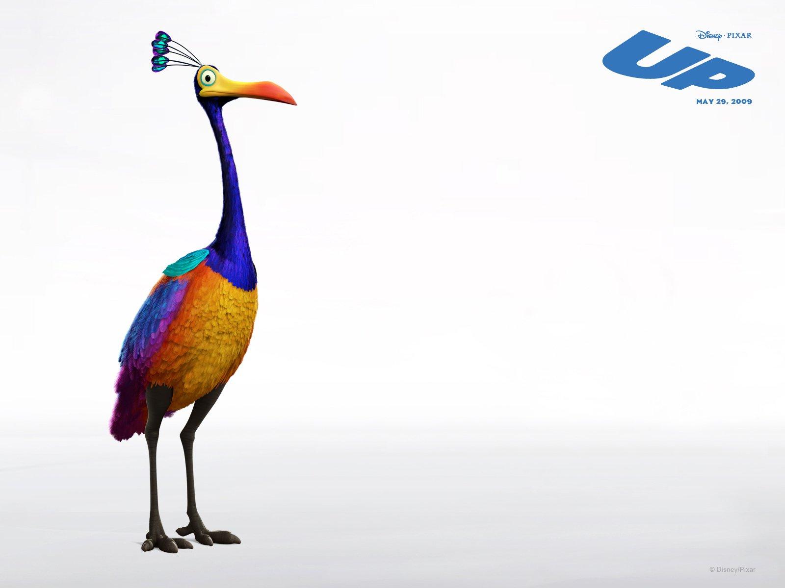 Wallpaper téléphone LàHaut Natacha Birds