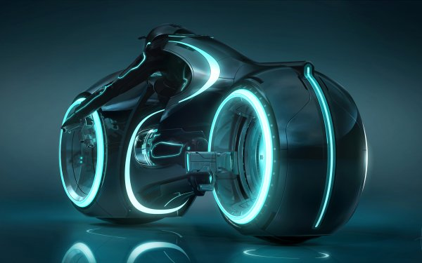 Movie TRON: Legacy Tron Sci Fi Bike Motorcycle HD Wallpaper | Background Image
