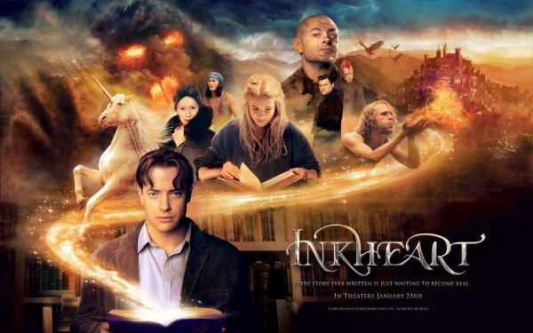 Movie Inkheart Brendan Fraser Fantasy HD Wallpaper | Background Image