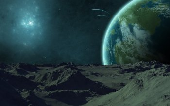 Science-Fiction - Planetenaufgang Wallpapers and Backgrounds ID : 369327