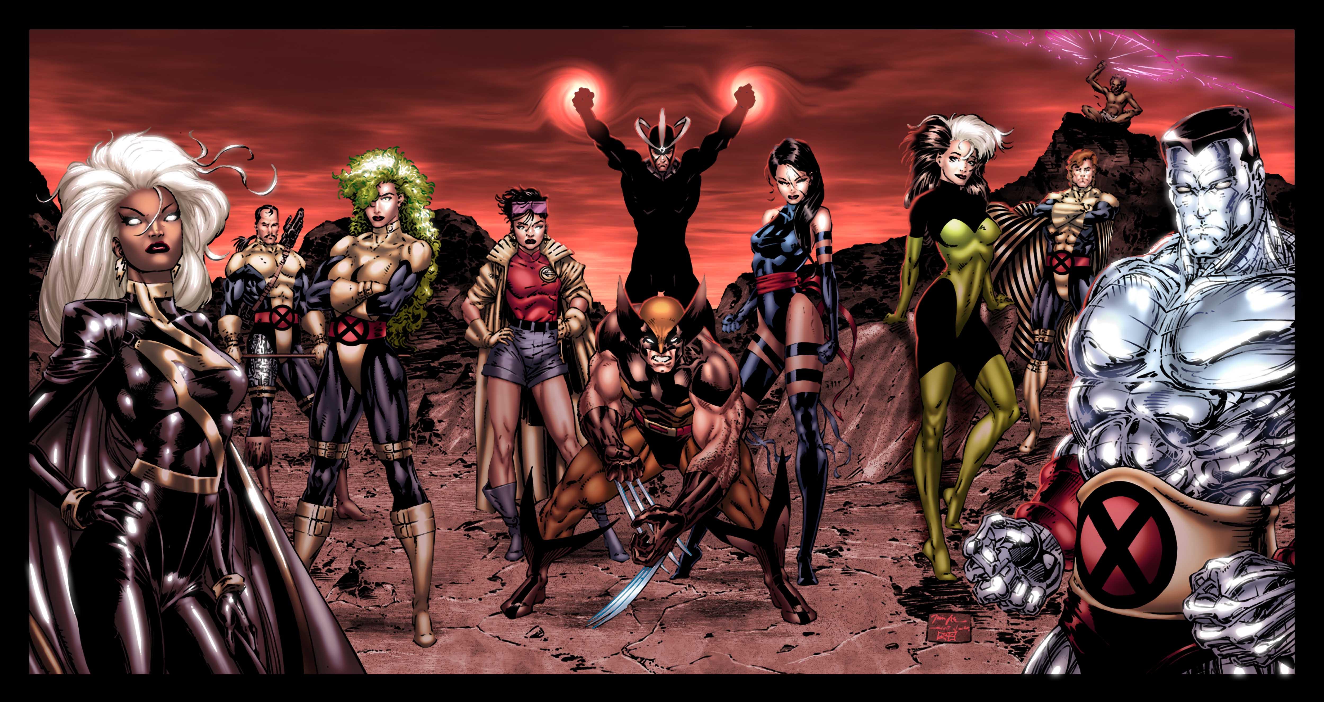 90s x men comic wallpaper - photo #7