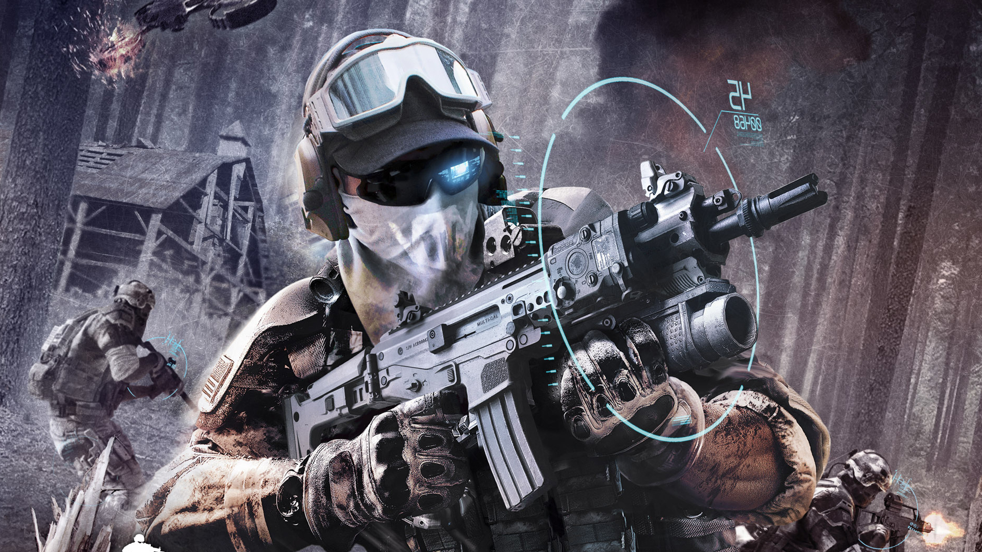 Tom Clancy's Ghost Recon: Future Soldier Full HD Wallpaper ...