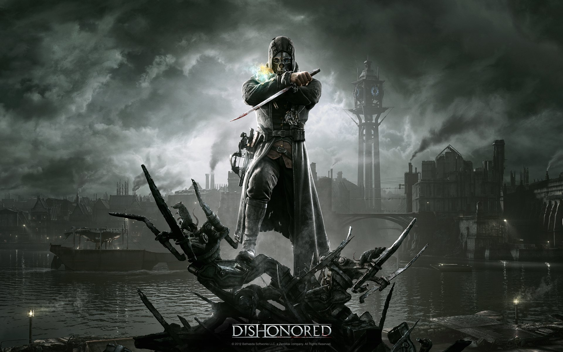 80 dishonored hd wallpapers | background images - wallpaper abyss