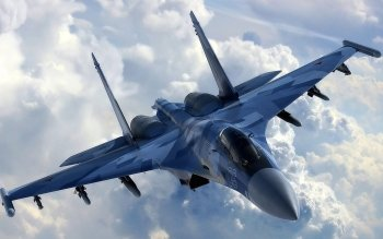 Military - Sukhoi Su-35 Wallpapers and Backgrounds ID : 372211