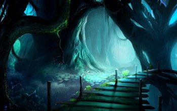 Fantasy - Forest Wallpapers and Backgrounds ID : 372820