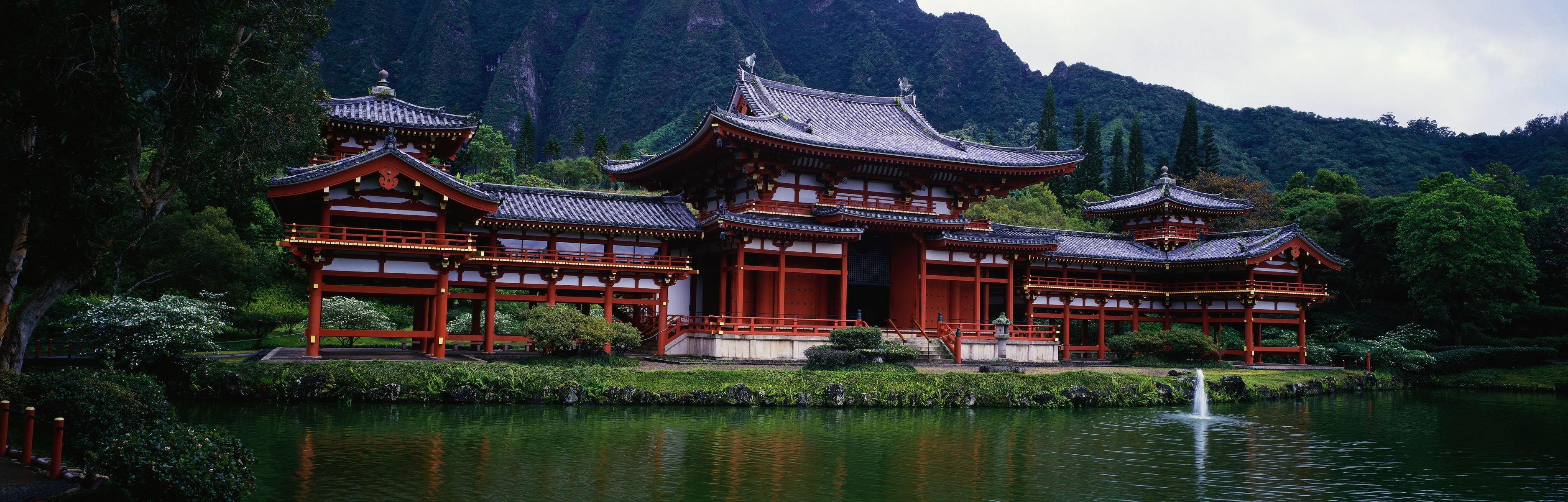 Asian Architecture Full HD Wallpaper And Background Image
