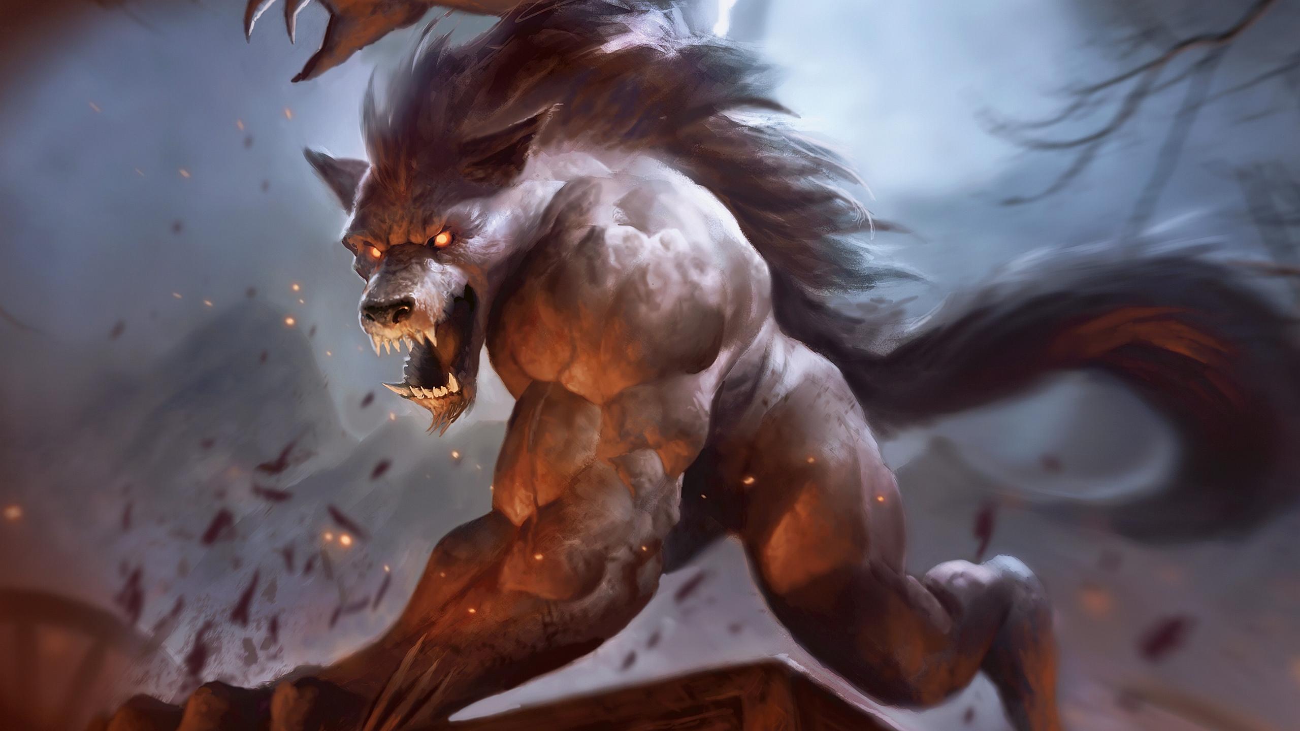 Magic: The Gathering F... Werewolf Wallpaper Iphone