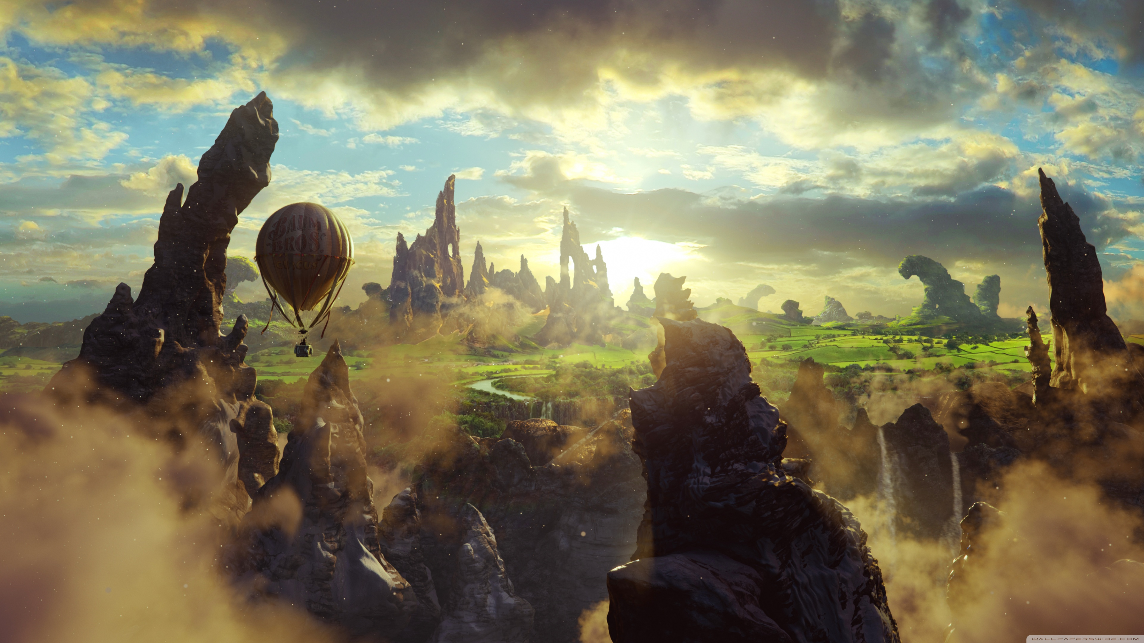 Oz The Great And Powerful 4k Ultra Hd Wallpaper Background Image