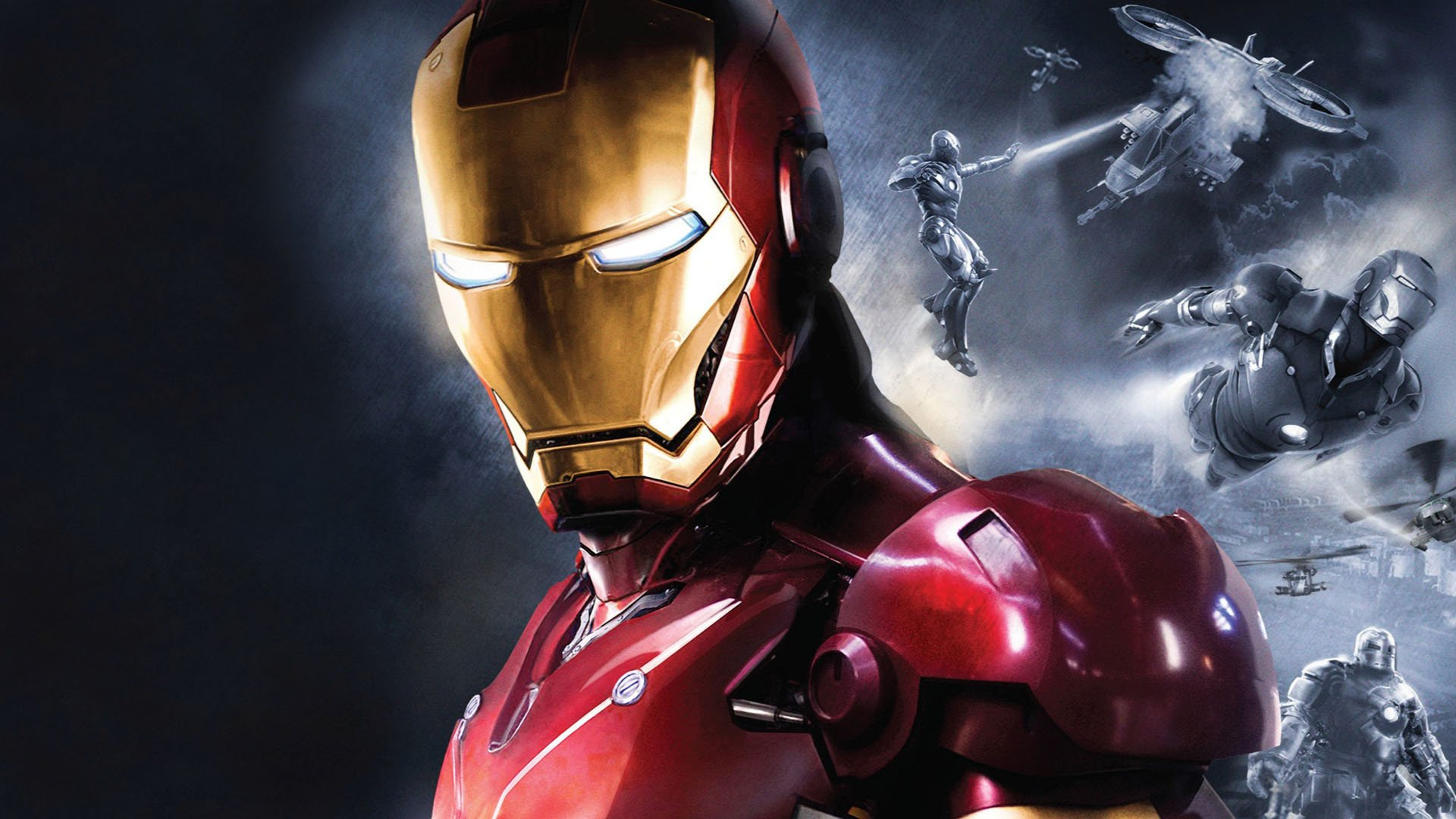 iron man full hd wallpaper and background image. Black Bedroom Furniture Sets. Home Design Ideas