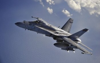 Militärisch - McDonnell Douglas F/A-18 Hornet Wallpapers and Backgrounds ID : 373941