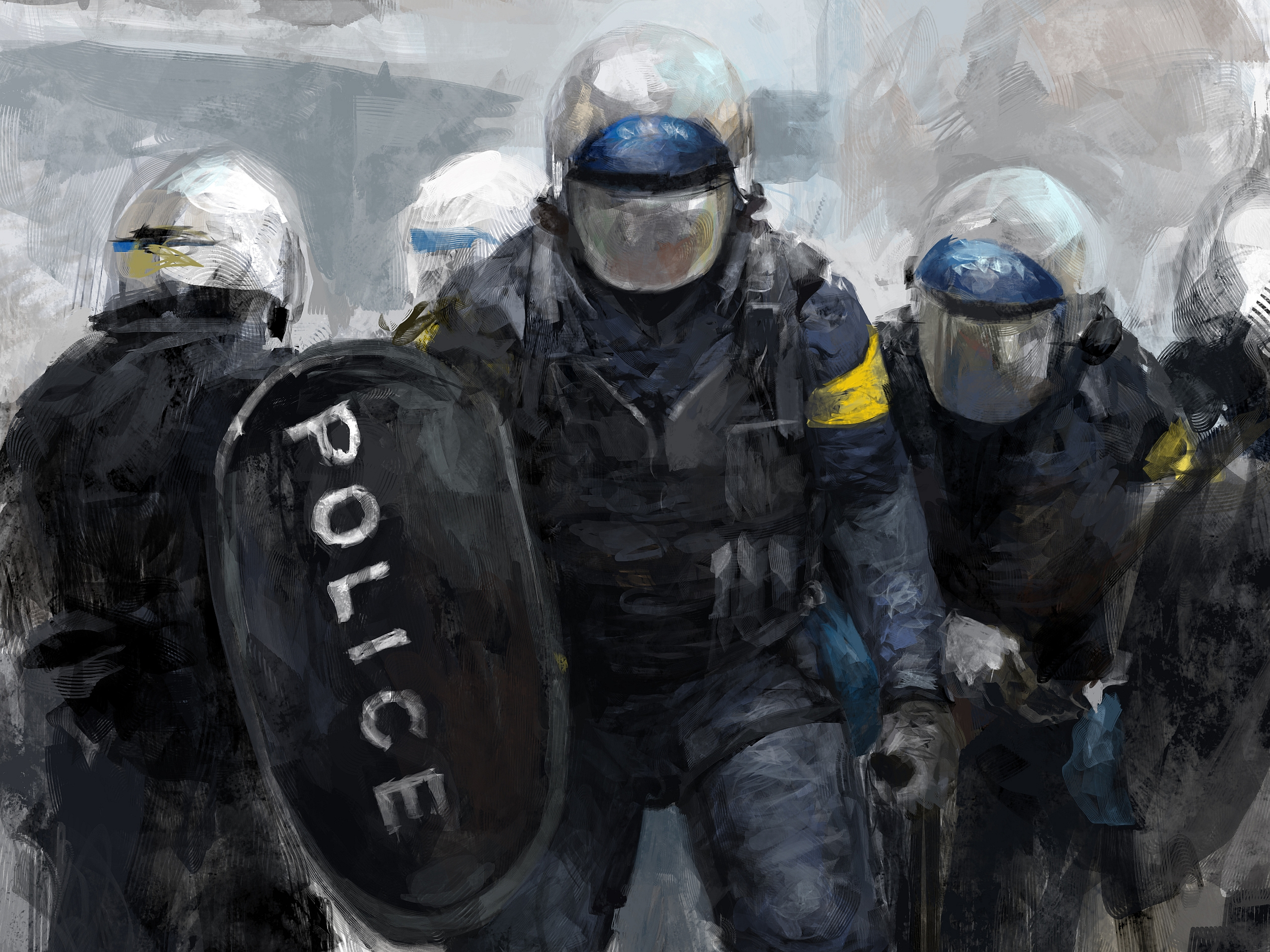Police Computer Wallpapers, Desktop Backgrounds | 2560x1919 | ID ...: wall.alphacoders.com/big.php?i=374476