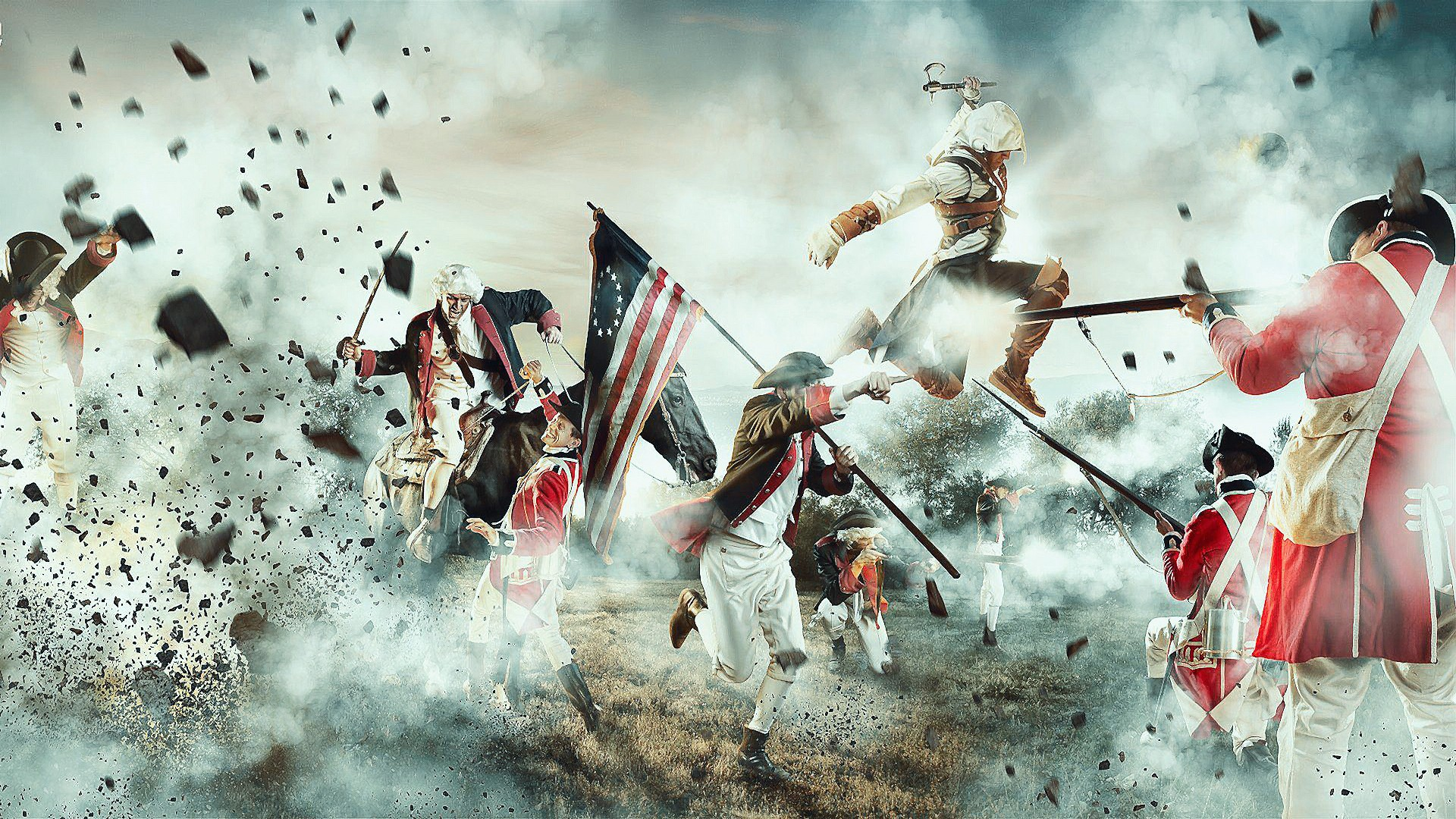 Assassins creed iii full hd wallpaper and background image video game assassins creed iii wallpaper voltagebd Choice Image