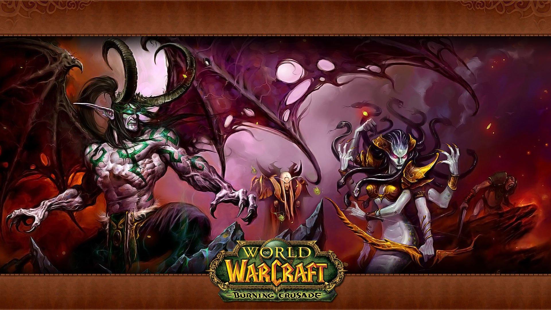 World Of Warcraft The Burning Crusade Fondo De Pantalla Hd