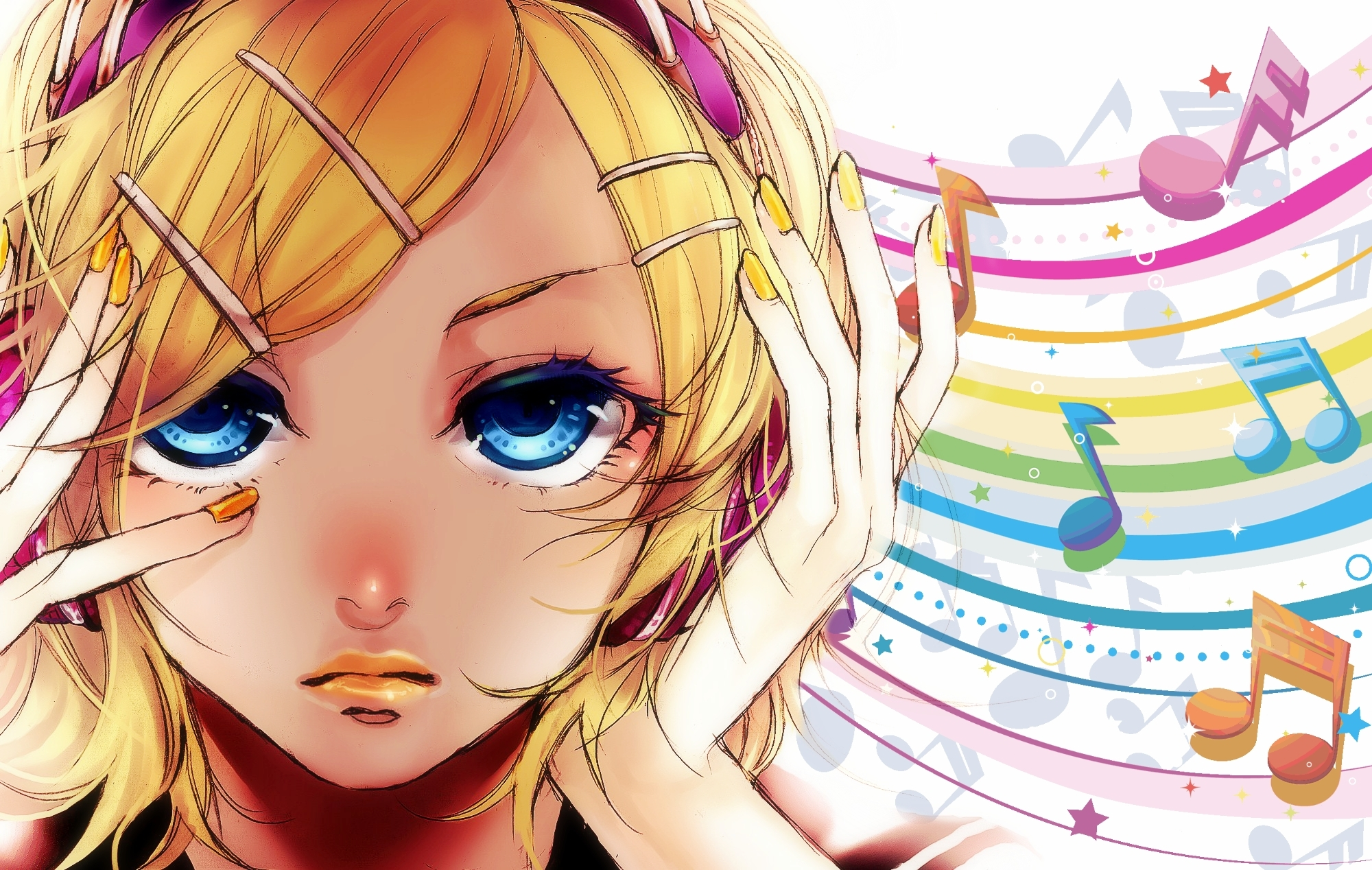 Vocaloid Kagamine Rin HD 4K Wallpaper for PC