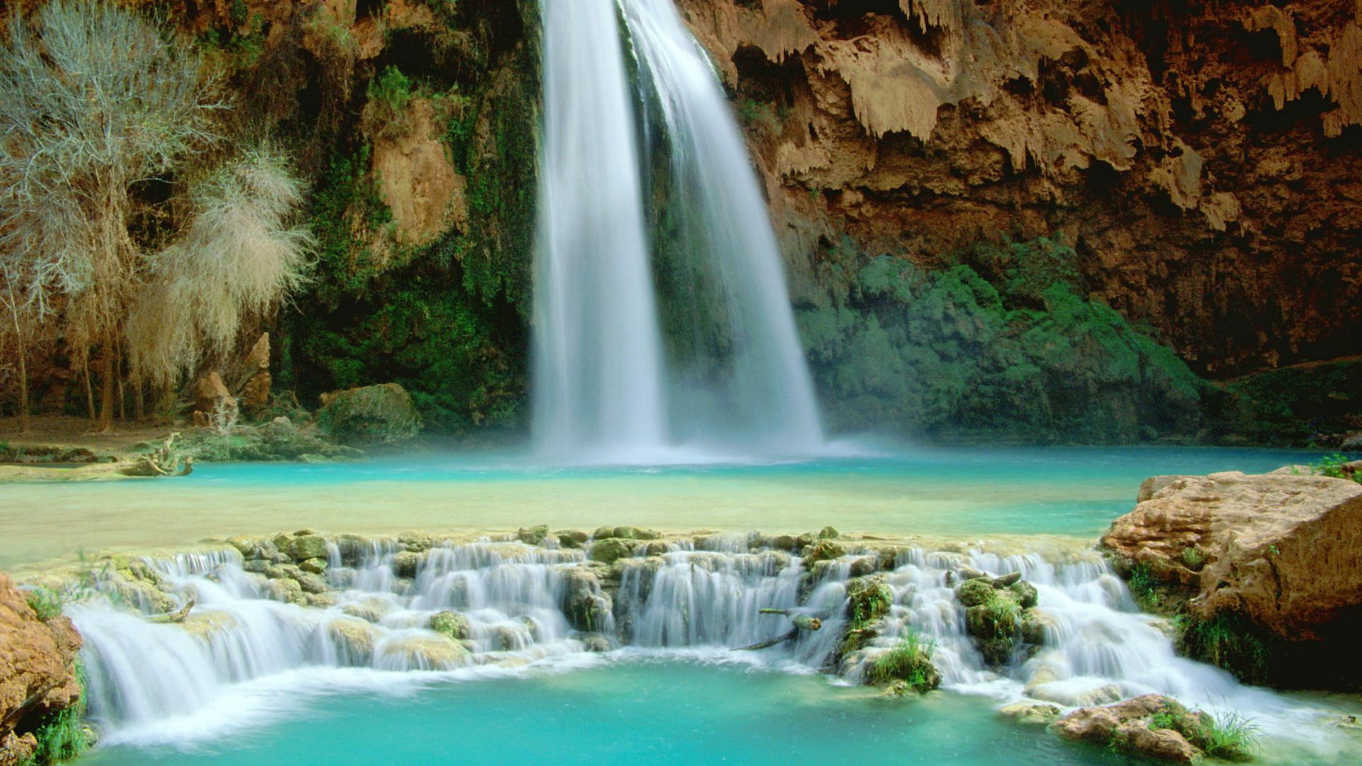 Waterfall Hd Wallpaper Background Image 1920x1080 Id