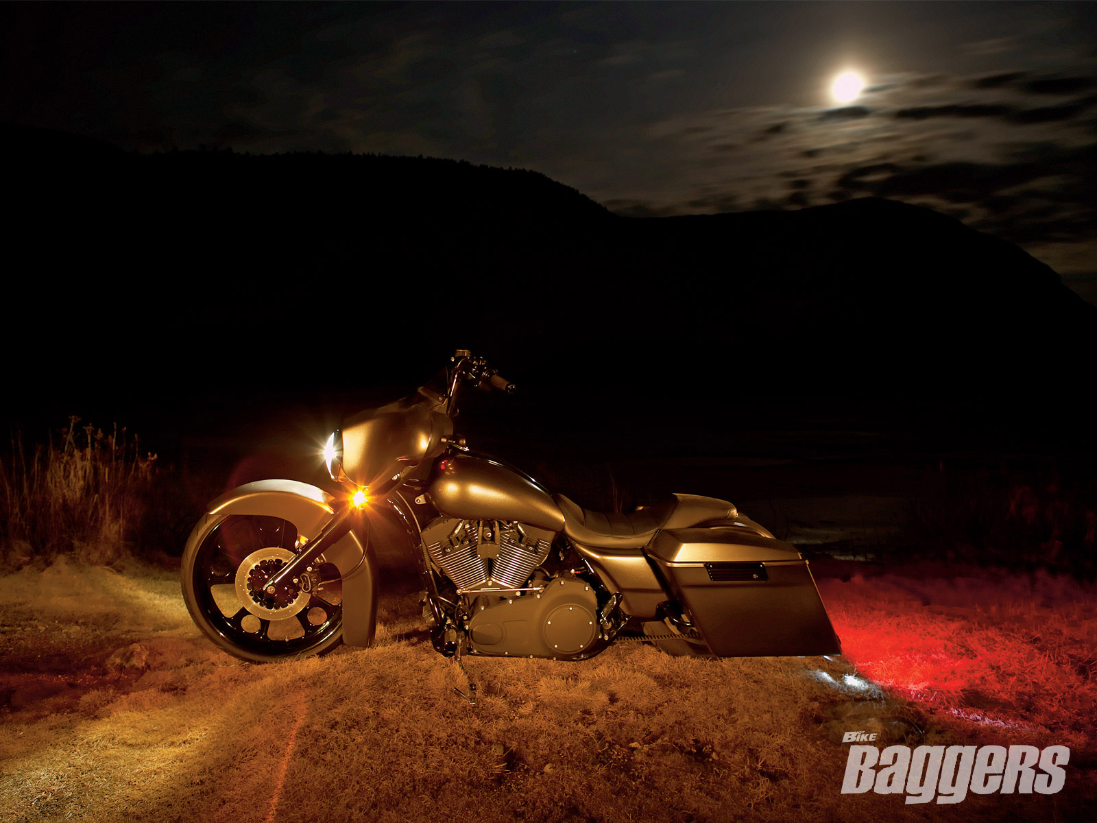 1 2007 Harley Davidson Chopped Street Glide Hd Wallpapers