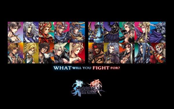 Video Game Dissidia: Final Fantasy Final Fantasy Game Fantasy Dissidia HD Wallpaper   Background Image