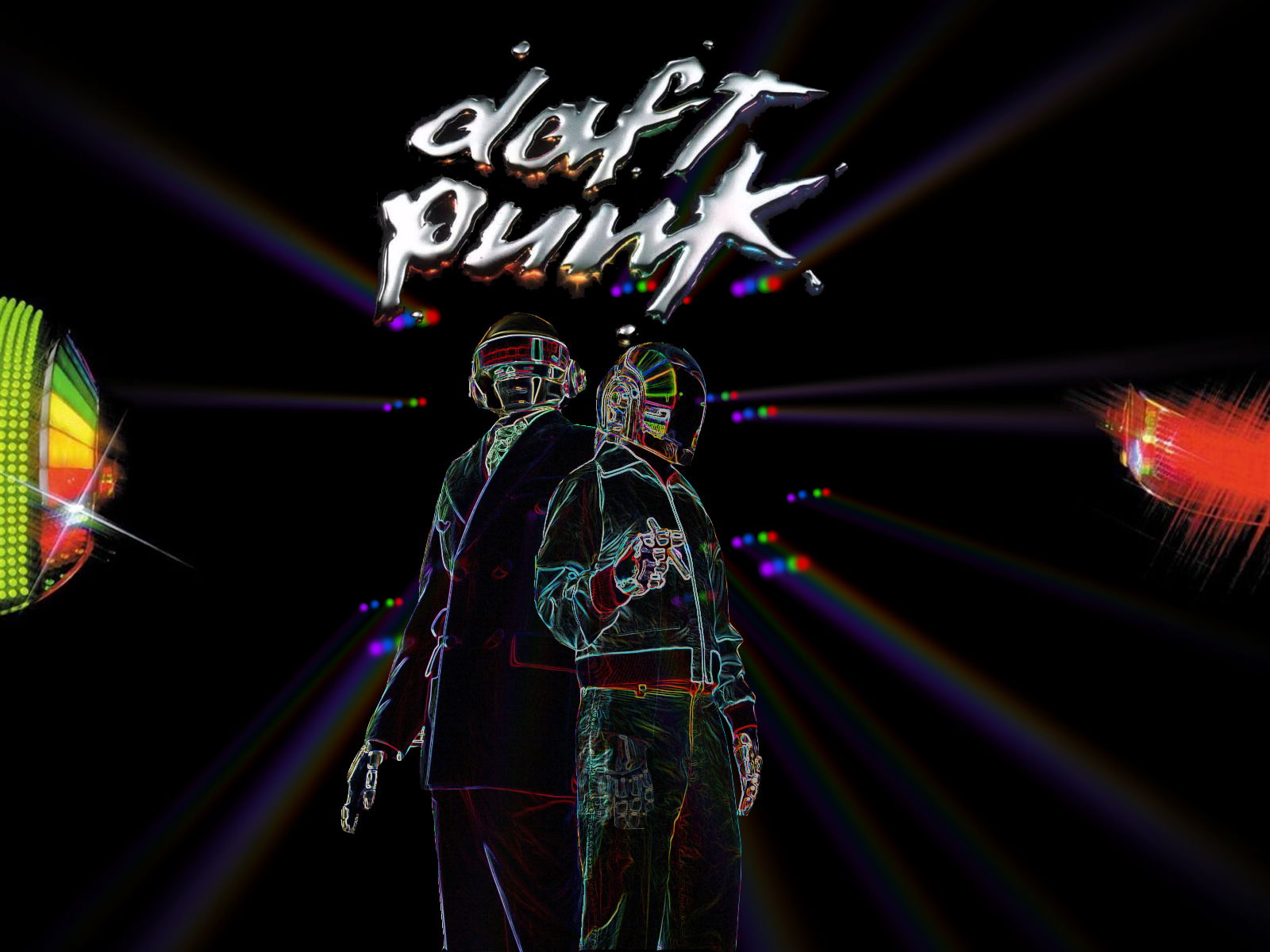 Daft Punk Wallpaper and Background Image | 1600x1200 | ID ...