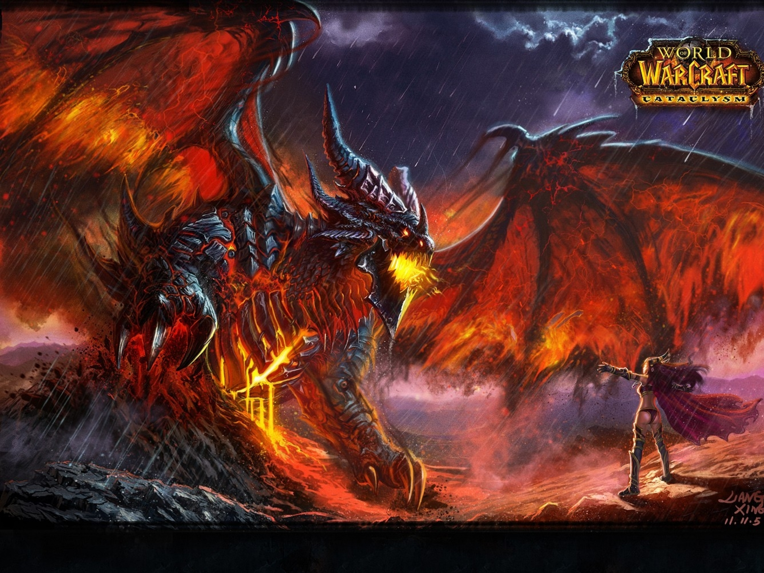 World Of Warcraft Cataclysm Fondo De Pantalla Hd Fondo De