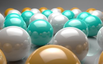 CGI - Balls Wallpapers and Backgrounds ID : 376132