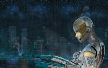 Sci Fi - Cyborg Wallpapers and Backgrounds ID : 376839