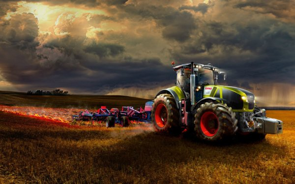 Vehicles - claas axion Wallpapers and Backgrounds