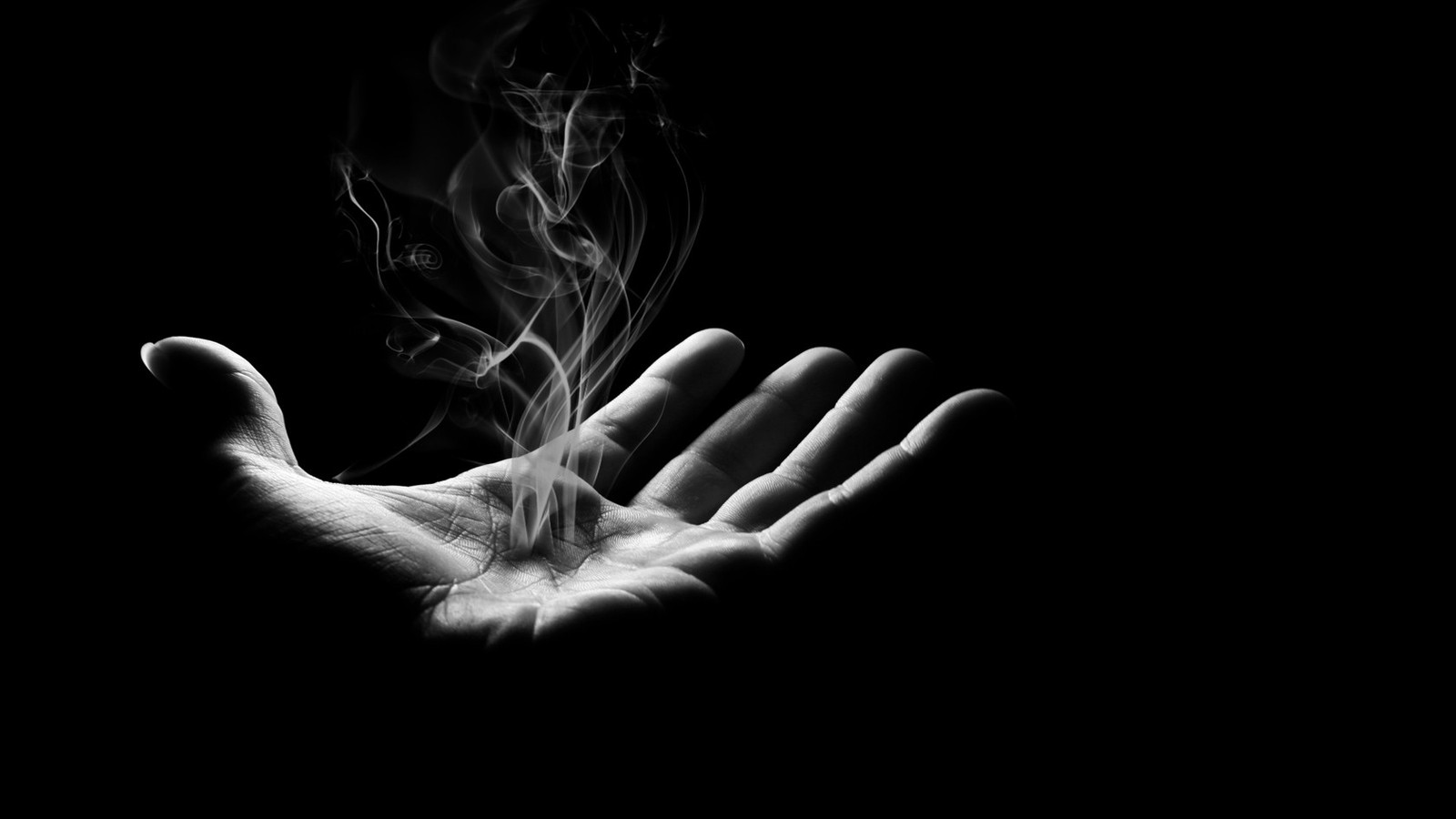 Photography - Smoke  Dark Wallpaper