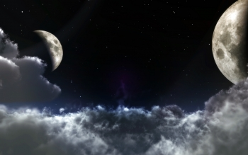 Sci Fi - Moon Wallpapers and Backgrounds ID : 377772
