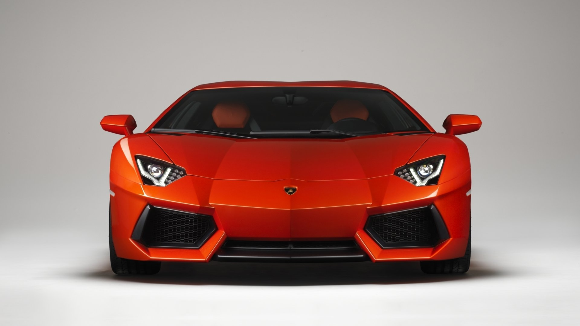 Vehicles - Lamborghini Aventador LP 700-4  Vehicle Car Orange Car Supercar Lamborghini Lamborghini Aventador Lamborghini Aventador LP700-4 Wallpaper