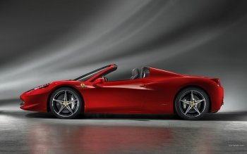 Vehículos - Ferrari 458 Spider Wallpapers and Backgrounds ID : 378401