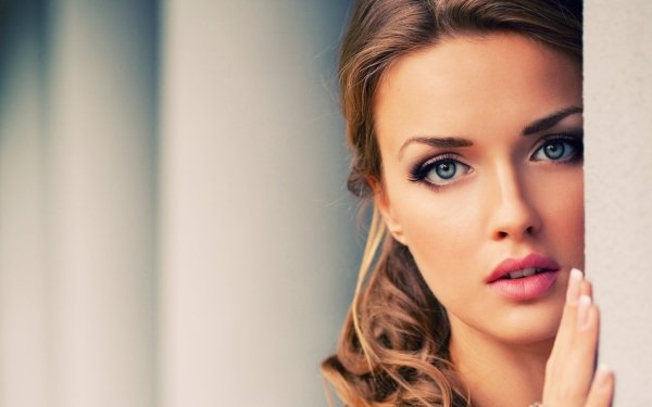 Kvinnor Face HD Wallpaper | Background Image
