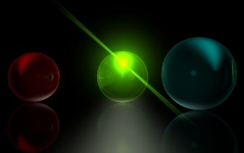 CGI - Glass Balls 4d Wallpapers and Backgrounds ID : 379777