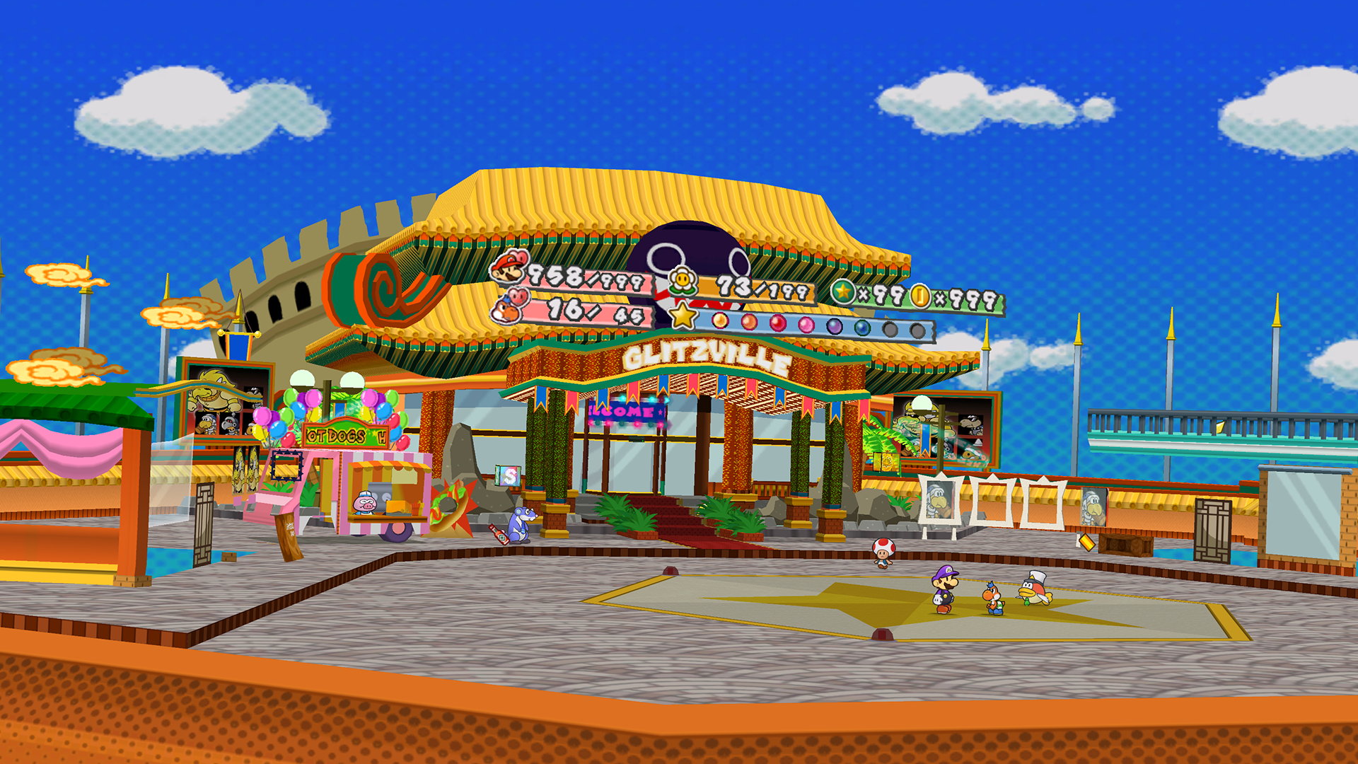 5 Paper Mario The Thousand Year Door Hd Wallpapers Background