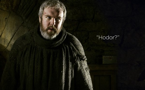 TV Show Game Of Thrones Kristian Nairn Hodor HD Wallpaper | Background Image