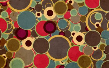 Abstract - Circles Wallpapers and Backgrounds ID : 381556