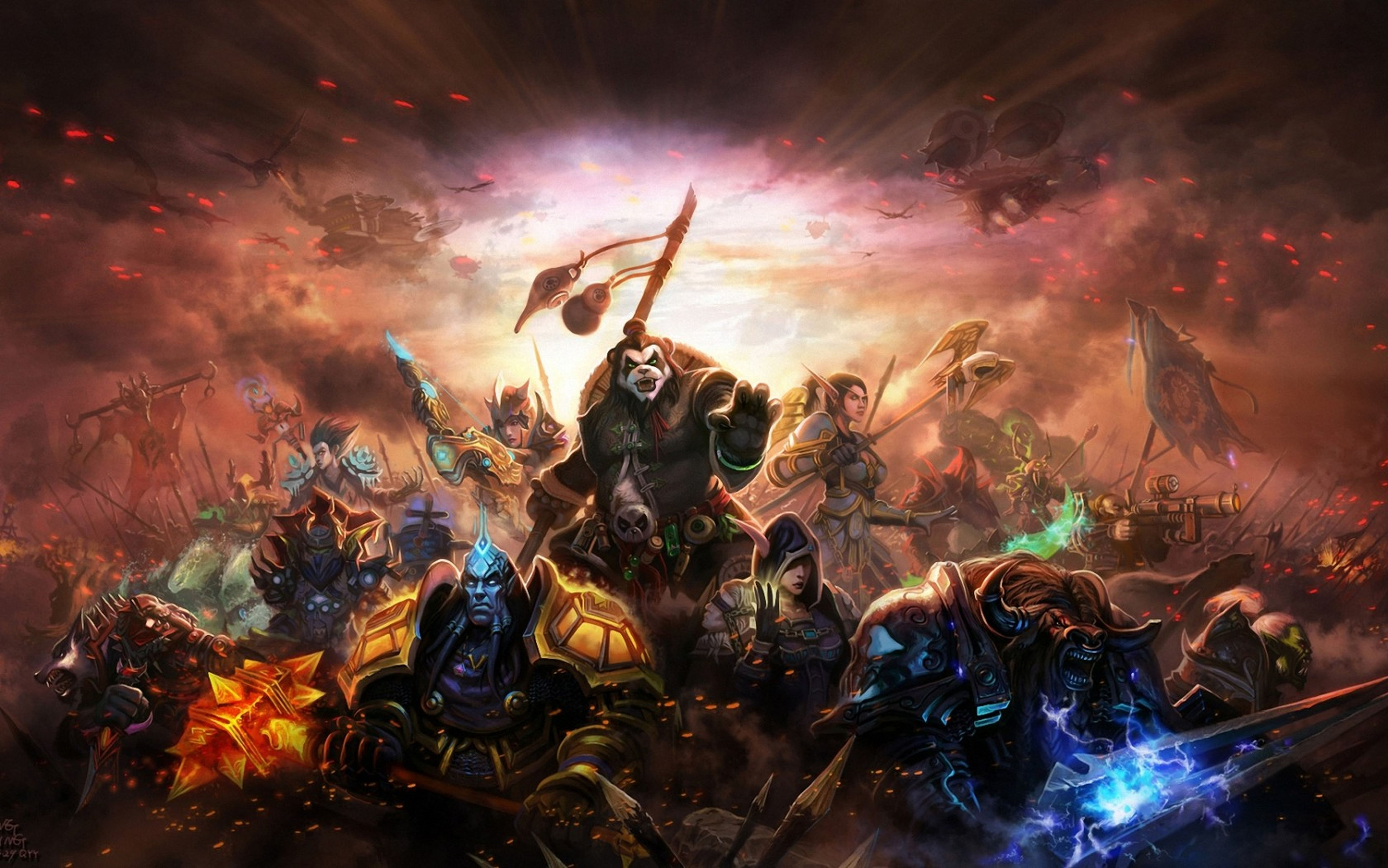 33 World Of Warcraft: Mists Of Pandaria HD Wallpapers ...