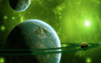 Sci Fi - Planetary Ring Wallpapers and Backgrounds ID : 383420