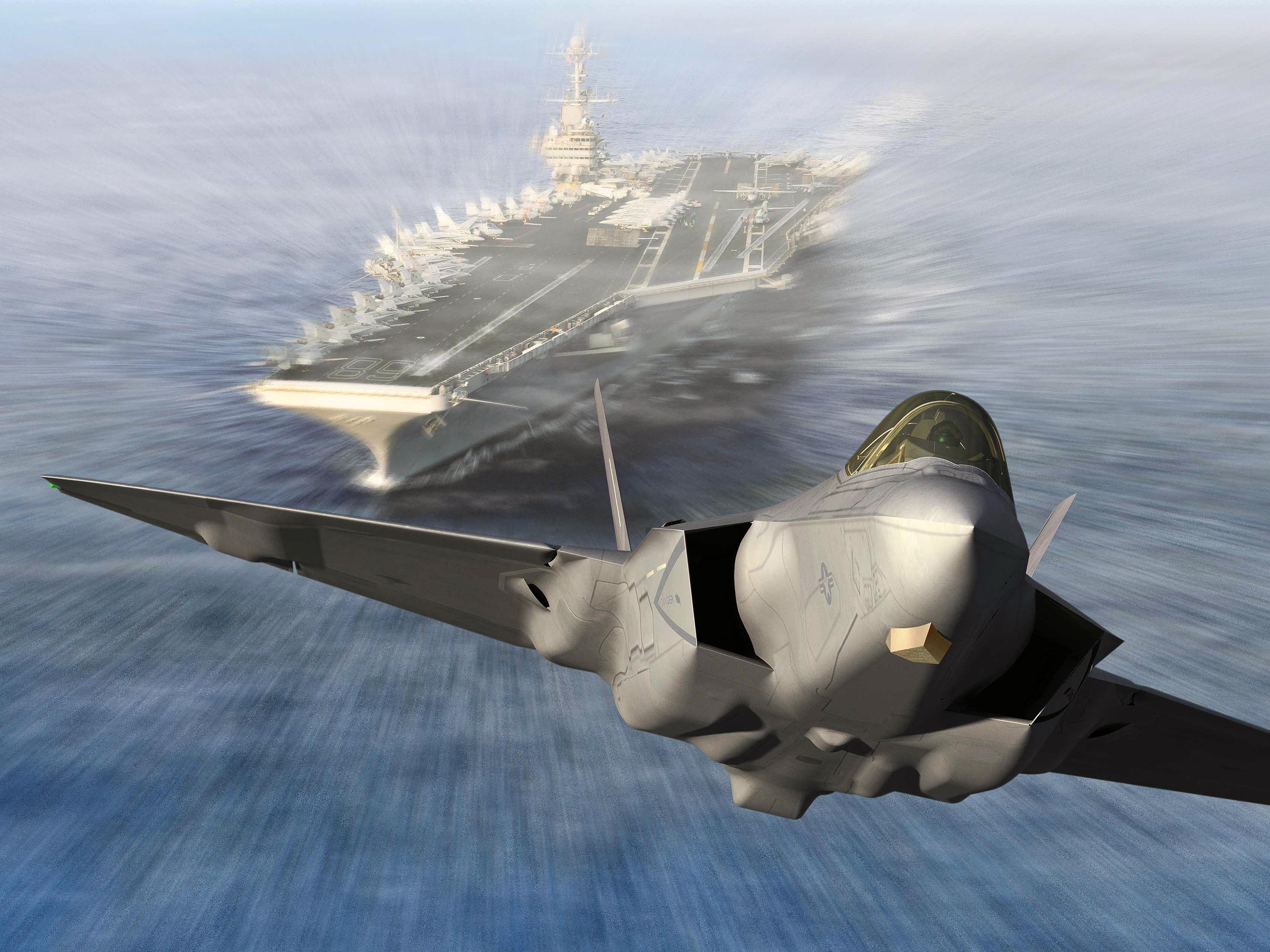 Истребитель F-35 скачать