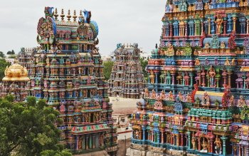 Religious - Meenakshi Amman Temple Wallpapers and Backgrounds ID : 385306