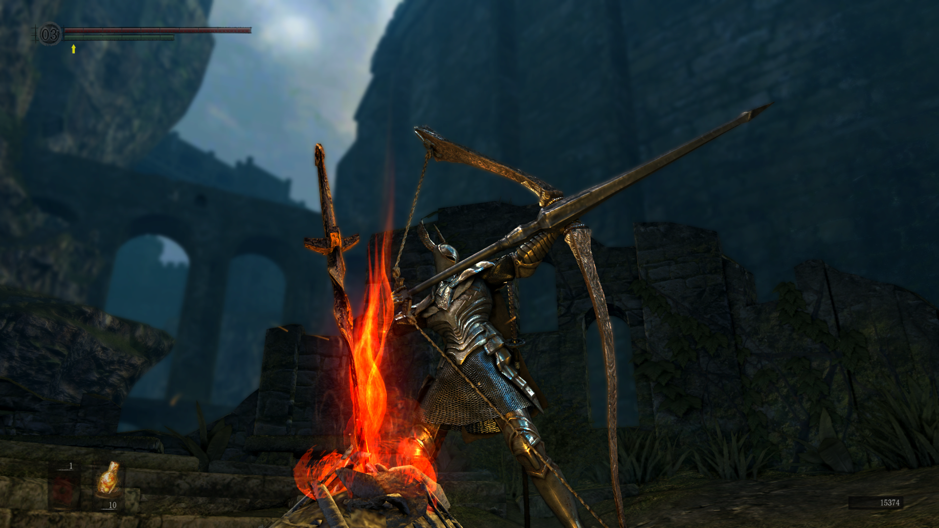 Bonfire Dark Souls Hd Wallpaper Background Image 1920x1080