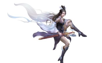 Fantasy - Women Warrior Wallpapers and Backgrounds ID : 386333
