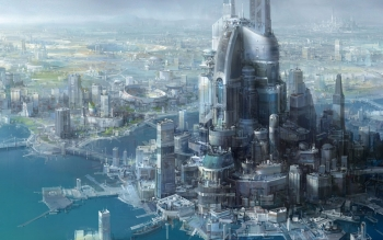 Sciencefiction - Stad Wallpapers and Backgrounds ID : 386873