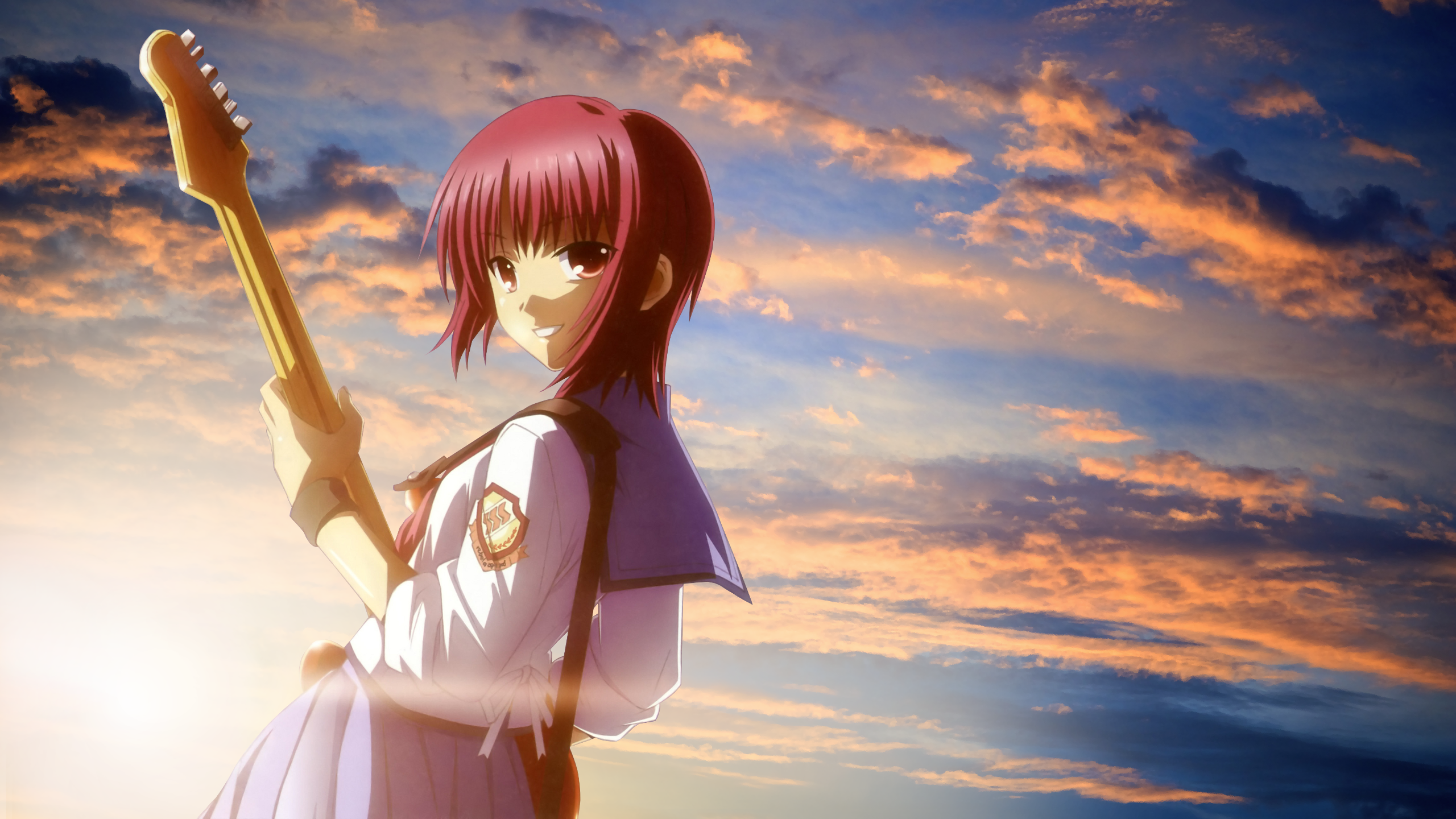 Angel beats full hd wallpaper and background image 2560x1440 anime angel beats masami iwasawa wallpaper voltagebd