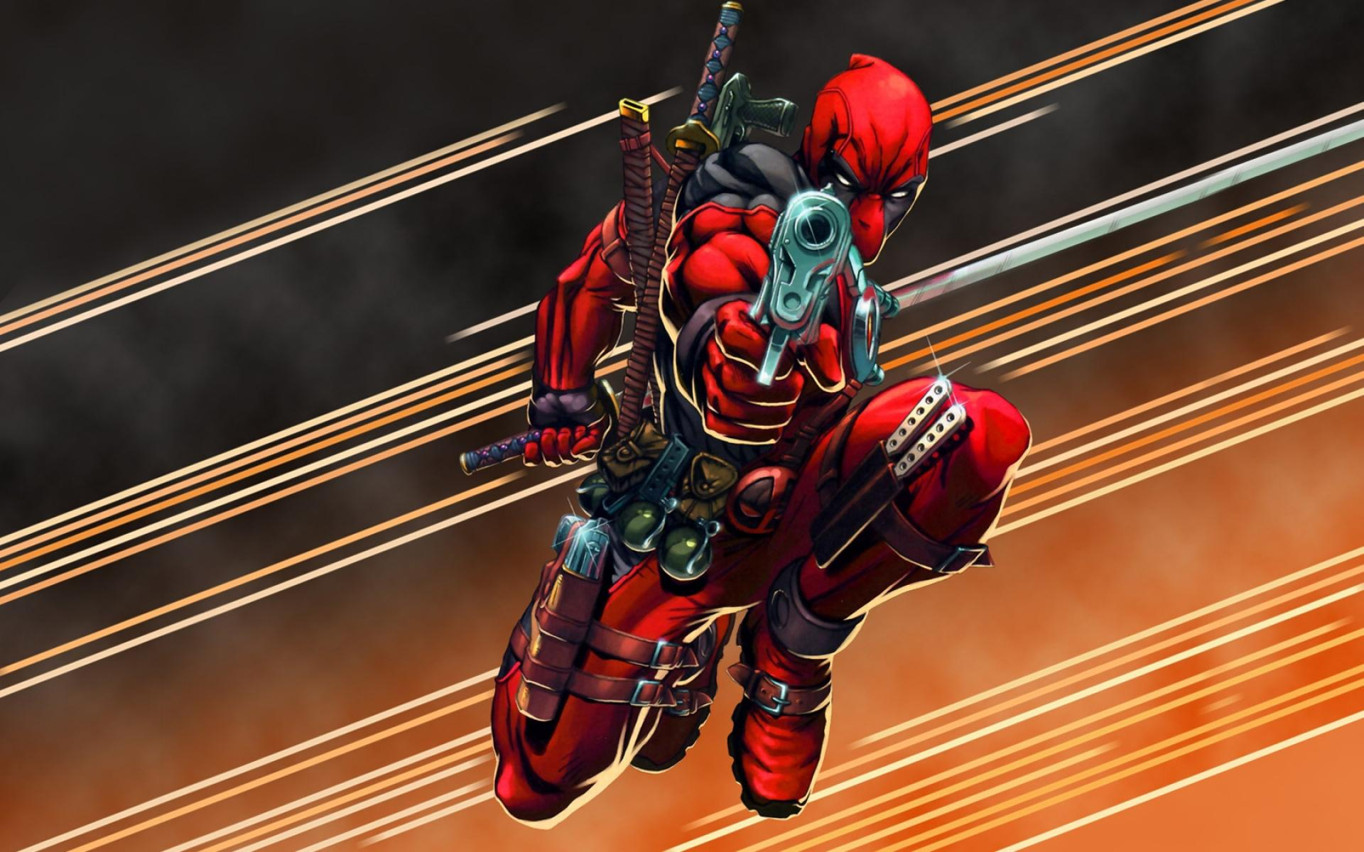 deadpool merc with a mouth wallpaper and background