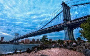 Man Made - Manhattan Bridge Wallpapers and Backgrounds ID : 387106