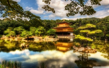 Religioso - The Golden Pavilion: Kyoto Wallpapers and Backgrounds ID : 387496