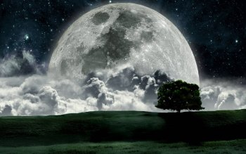 Artistic - Moon Wallpapers and Backgrounds ID : 387918