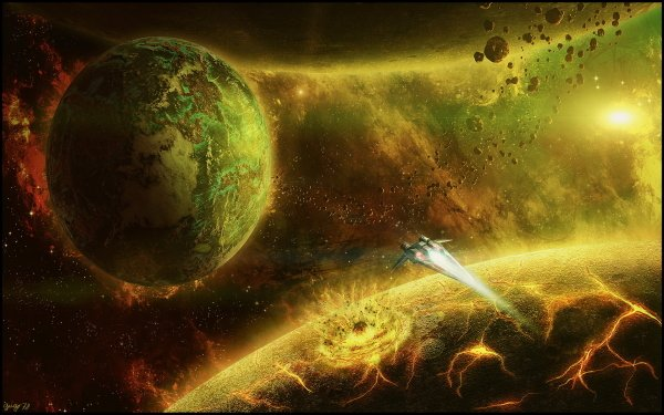 Sci Fi - Planets Wallpapers and Backgrounds